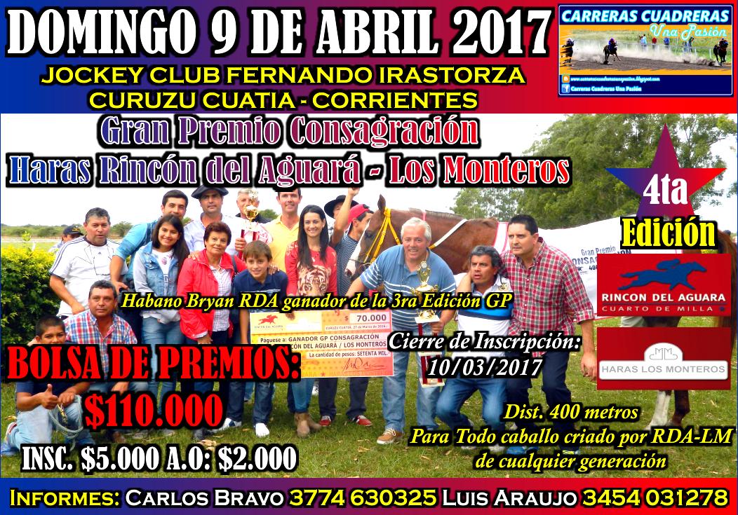 GP CONSAGRACION - 09.04.2017