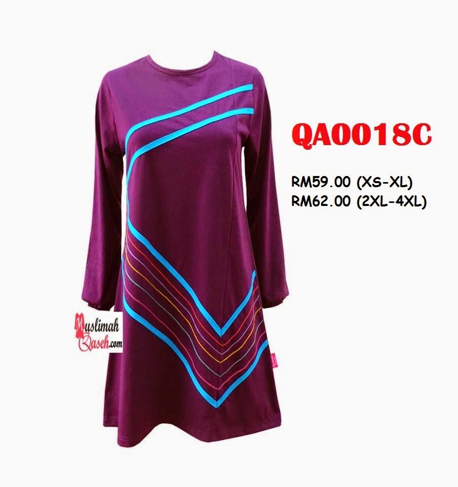 T-Shirt-Muslimah-Qaseh-QA0018C