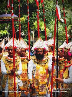Baris Gede Dancer - Bali art festival 33rd