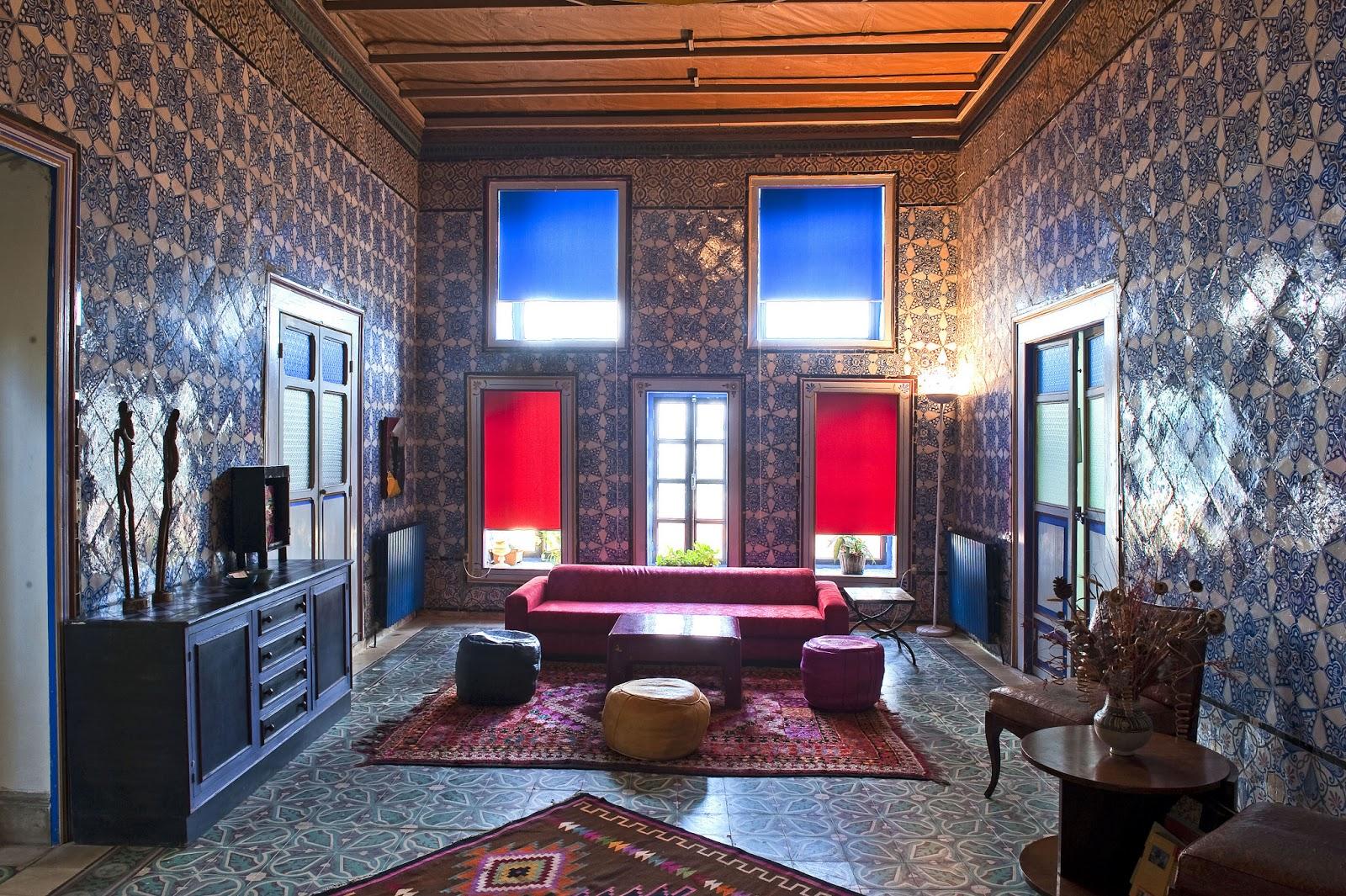 Chambres D 39 H Tes La Chambre Bleue Tunis Tunisie Voyage