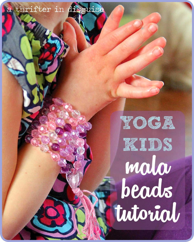 DIY Kids Yoga Prayer Beads