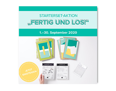 Starterset-Aktion im September bei Stampin' Up!