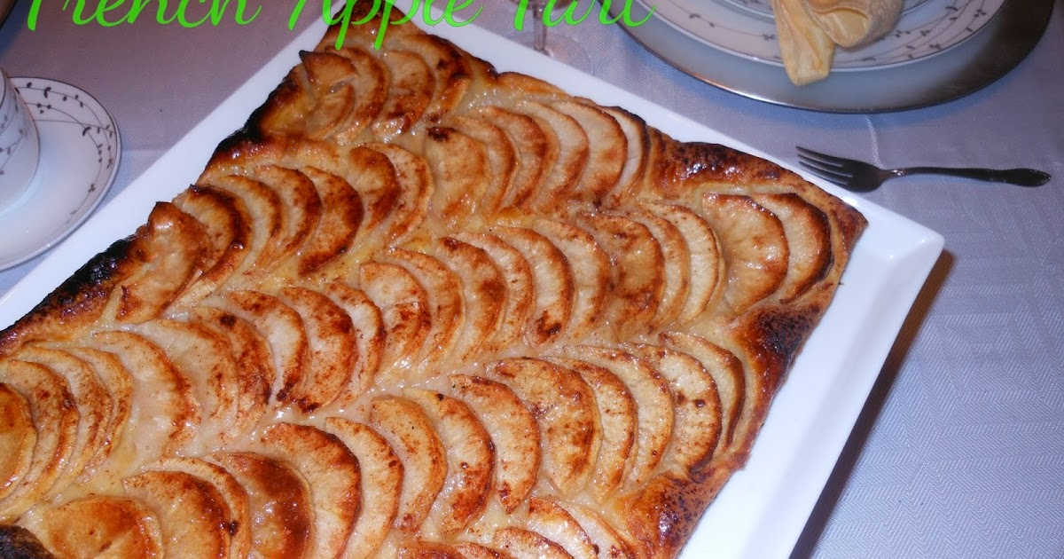 A Man About Food French Apple Tart