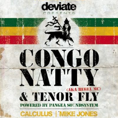 Congo Natty meets Tenor Fly