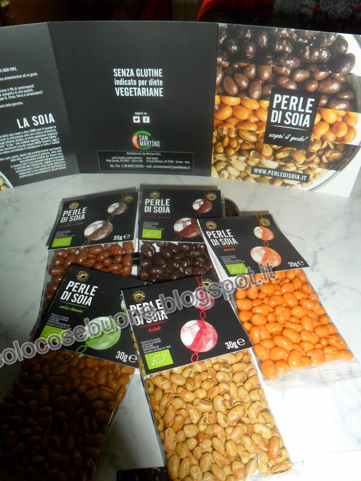 scopri il gusto delle perle di soia !