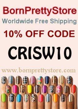 10% descuento en Born Pretty Store usando este código!