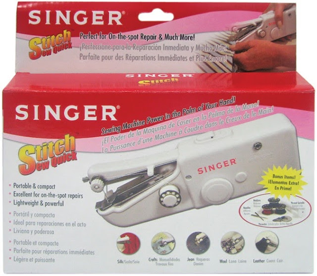 Crochet Machine : Crochet.is.Fun: Portable singer sewing machine