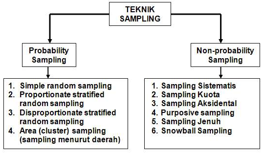 Pengertian Sampel dan Teknik Sampling