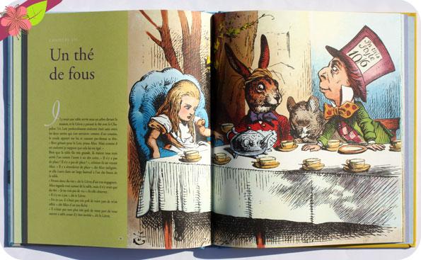 """""""Aventures d'Alice au pays des merveilles"""" de Lewis Carroll & John Tenniel - Mic Mac éditions"""