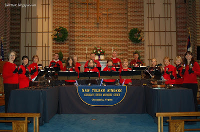 Nan Tucker Ringers Aldersgate UMC 2012