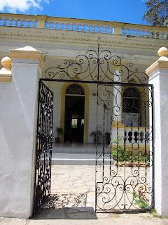 Santiago del Cuba gates of Casa del Caribe