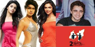 """Priyanka Chopra, Deepika Padukone, Asin and  Imran Khan """"2 States"""""""