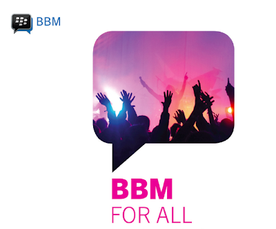Blackberry Messenger for android september 2103