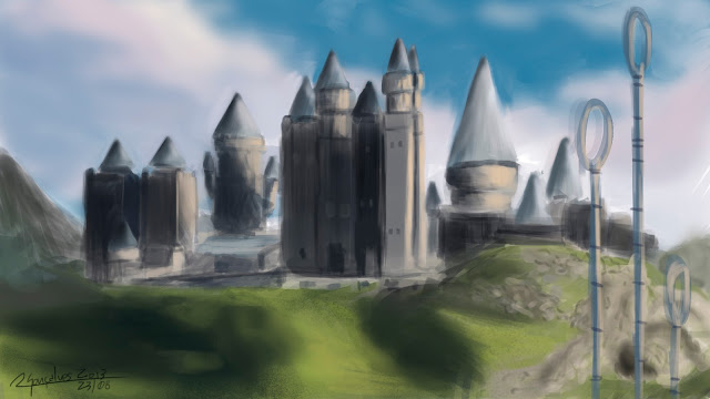 Harry Potter, landscape