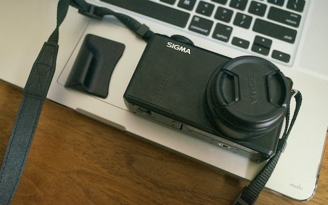 SIGMA DP2 Merrill と Grip by Richard Franiec