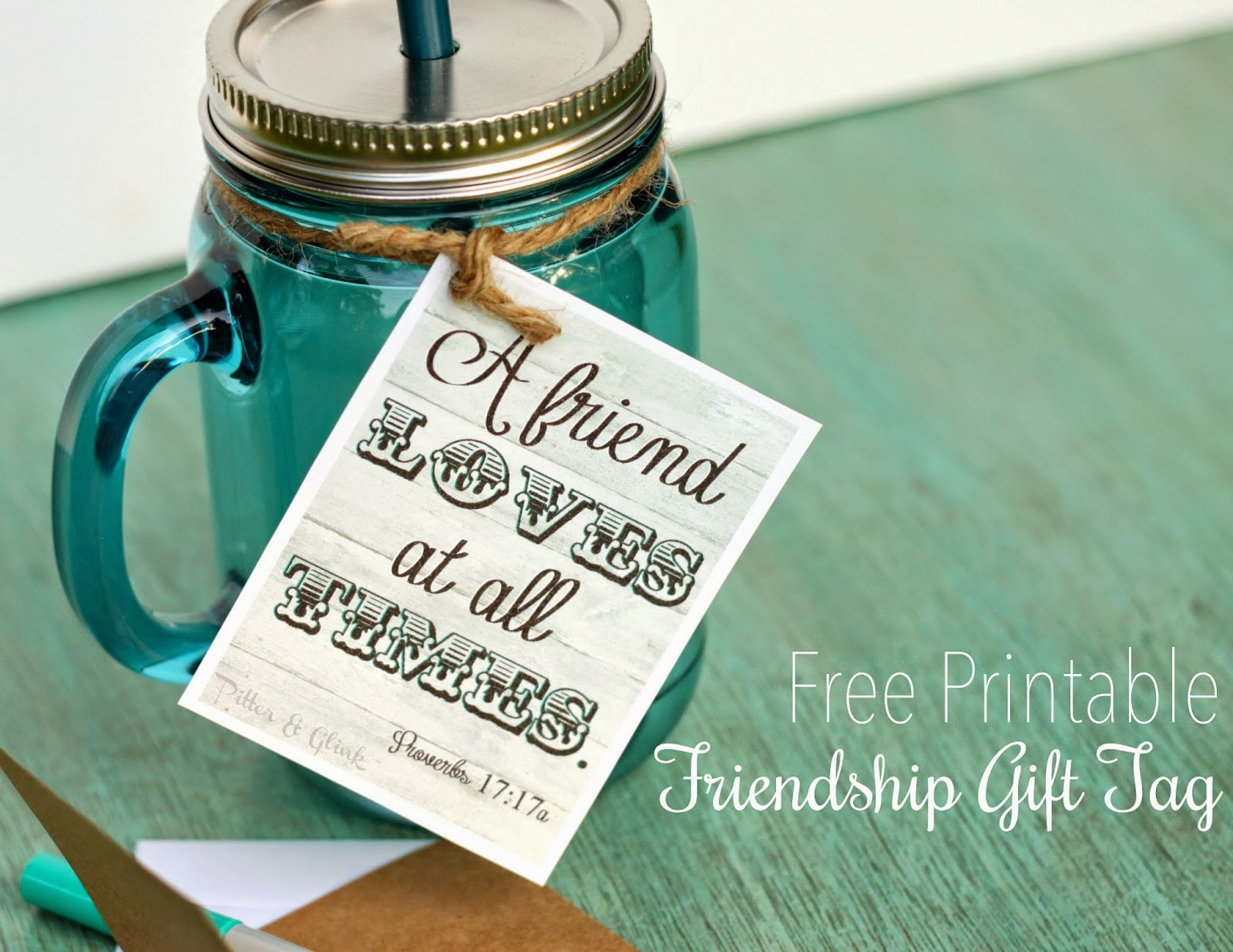 Pitterandglink free printable friendship gift tag mason jar label download these free printable gift tags from pitterandglink freeprintable gifttag negle Gallery