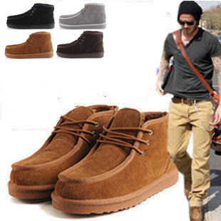 Mens Winter Boots Fashion - Boot Hto