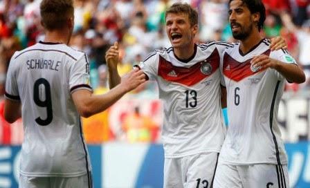 Brasil vs Jerman