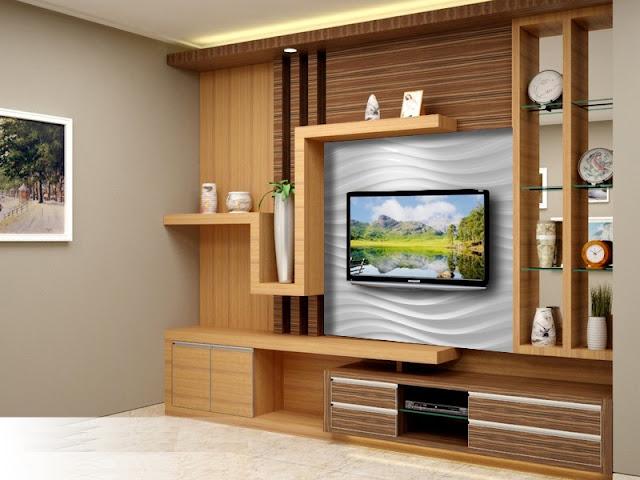 Desain Model Rak TV Sederhana Modern Terbaik