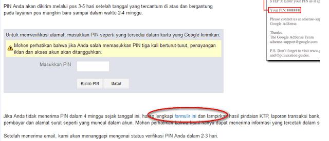 PIN Google Adsense Tidak DaTang? Bisa Verifikasi Dengan KTP