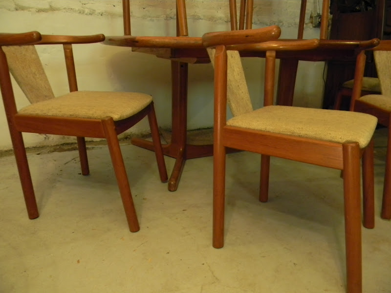 Danish Teak Dining Room Chairs