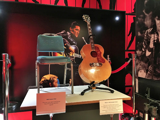 Elvis Presley's Guitar From 68 Comeback Special.