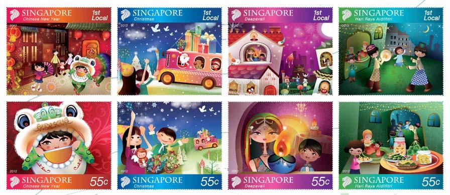 Festivals 2012 Stamp Issue