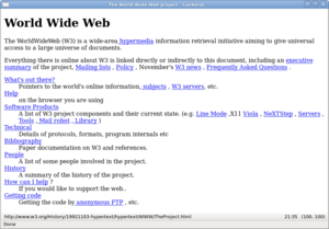 Home Page of first web site