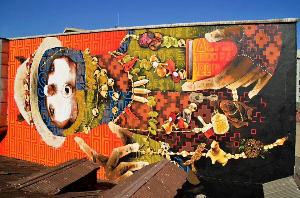 Inti new mural in valpara so chile streetartnews for Mural metro u de chile