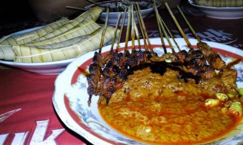 image of wisata kuliner lombok sate bulayak