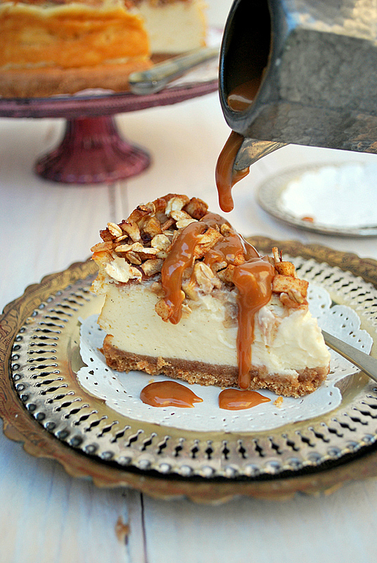 Sugg-r and some Salt: apple pecan cheesecake {para celebrar un ...