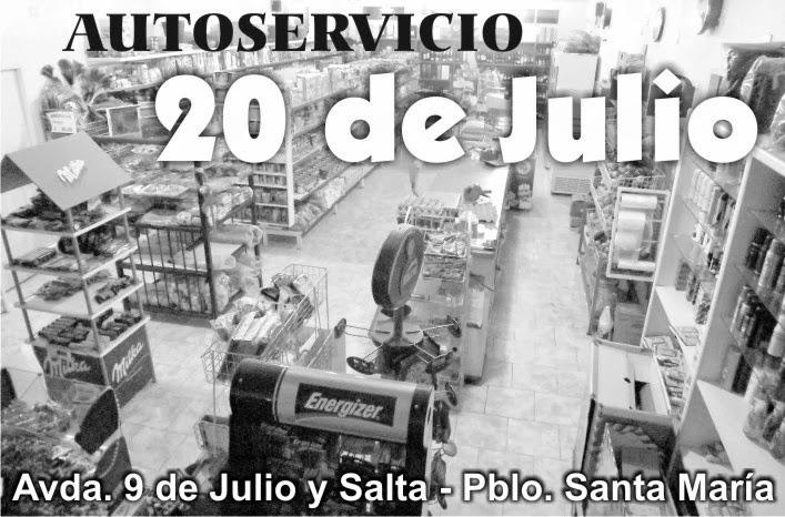 """Autoservicio """"20 de Julio"""""""