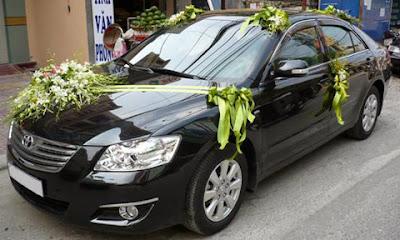 Dịch vụ cho thuê xe cưới Toyota Camry 24.G