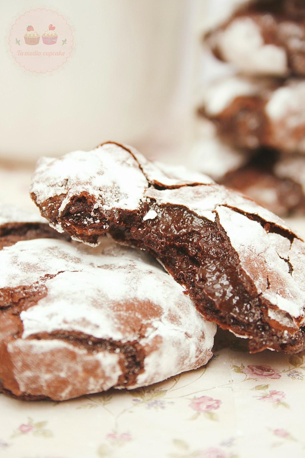 Tu medio cupcake: Dark Chocolate Cookies... o las cookies súper ...
