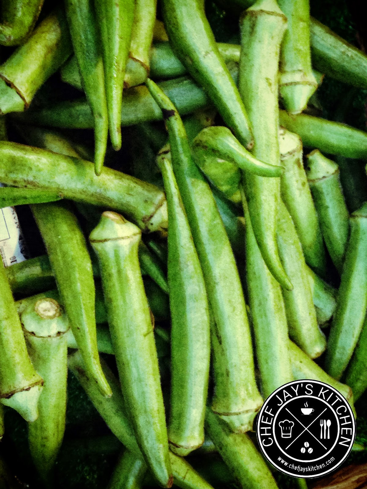 An Easy Steamed Okra Recipe