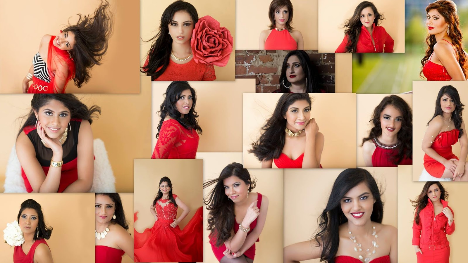 Mrs Indian Washington, ladies in red dress, types of red dresses, red lipstick, indian women, kinds of red dresses, Beautiful women, ravishing show