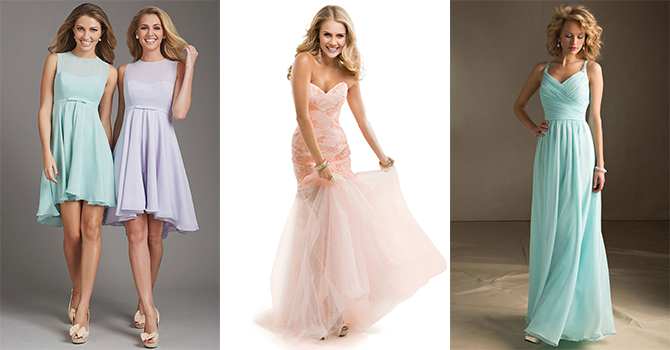 Going to prom with aisle style evening amp bridesmaid dress trends