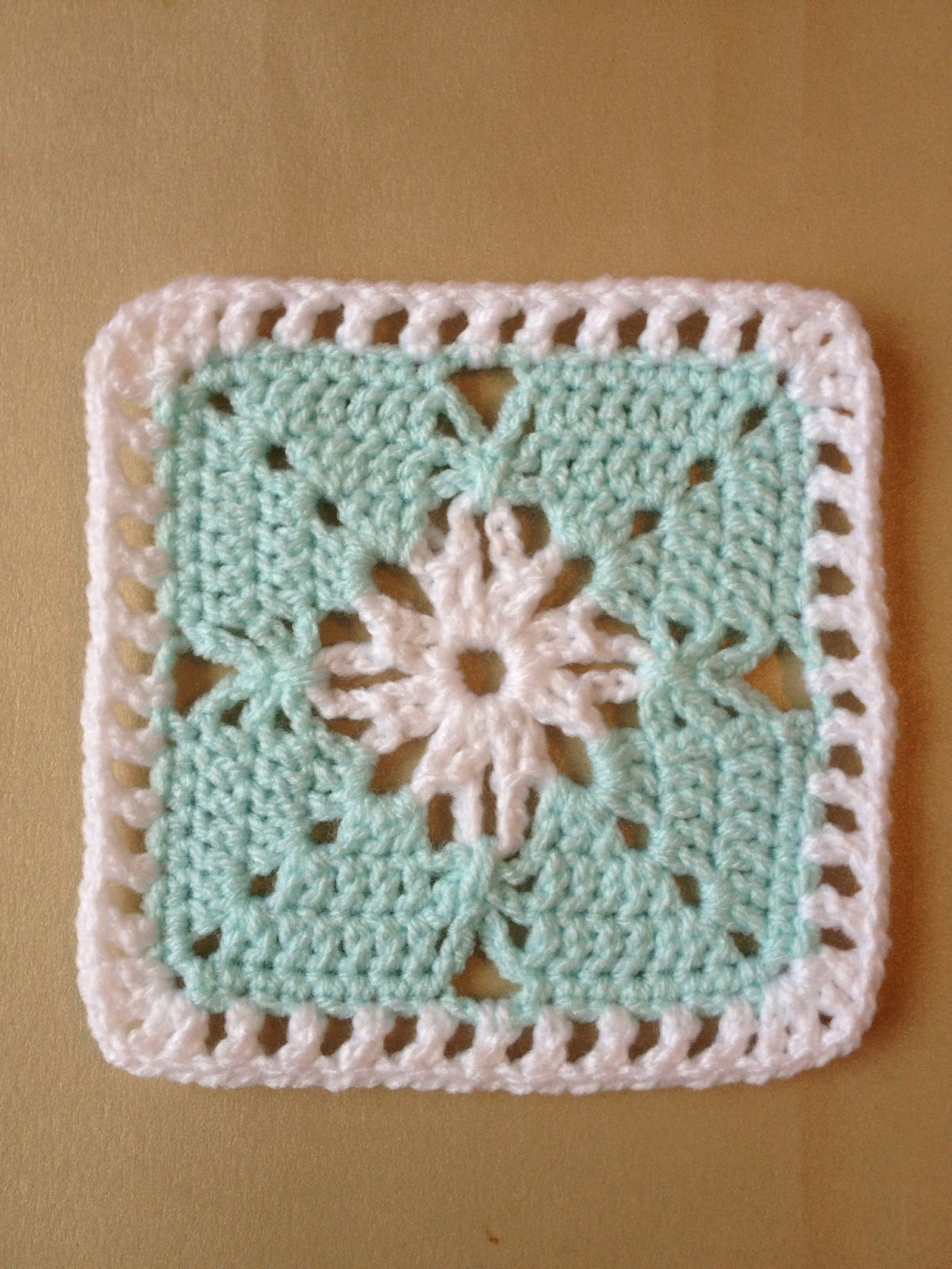 how to join crochet squares with slip stitch