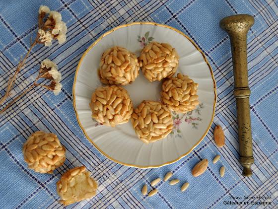 recette gateaux amandes pignons toussaint