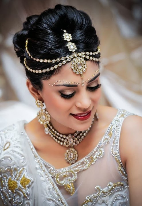 Fashion & Style: Exclusive Pakistani & Indian Hairstyle 2014 for Bridal-Wedding Latest Fashion ...