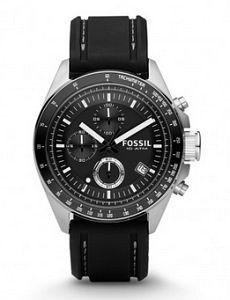 ceas Fossil negru de barbati