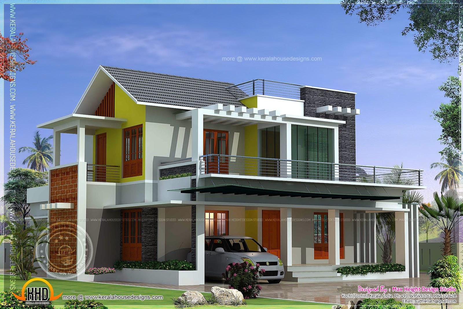 luxury contemporary house yards kerala home design studio