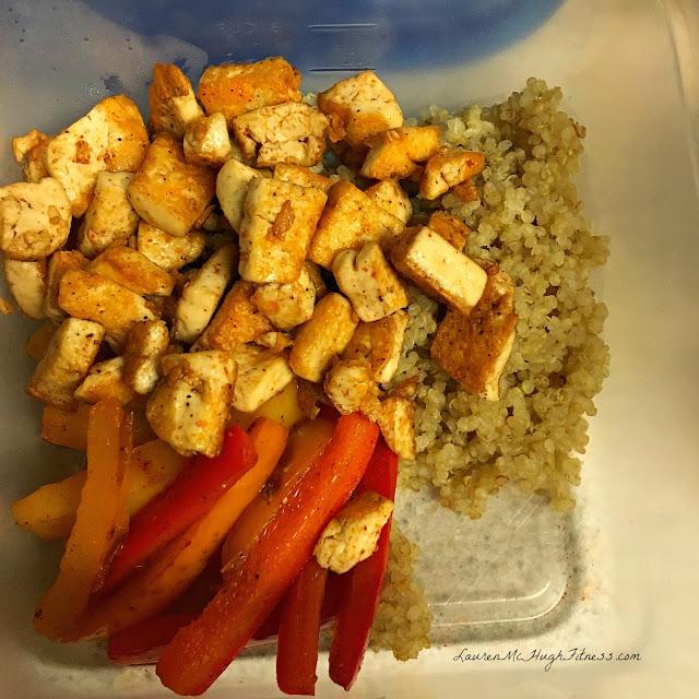 Tofu Fajitas