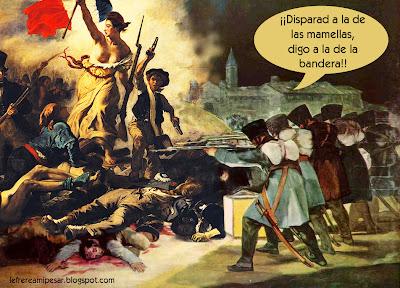 Delacroix, Goya , intrusión