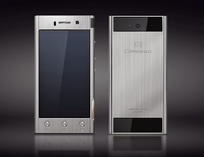 $1800 Solid Titanium Android Smartphone Now Available