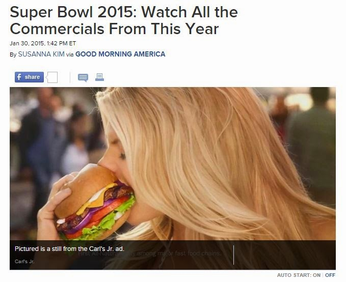 Super Bowl Ads 2015