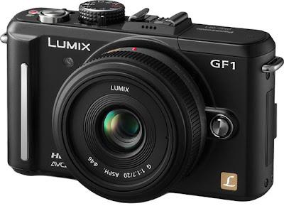 Fotografia della fotocamera mirrorless Panasonic Lumix GF1