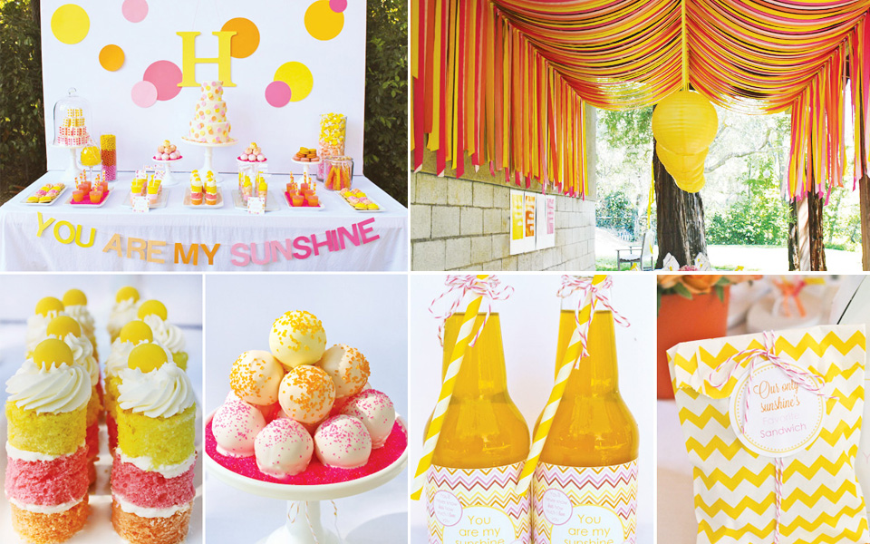 This kind or party is indeed bright as the sun and made more lovely ...