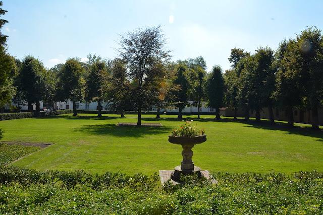 Postel Abbey garden