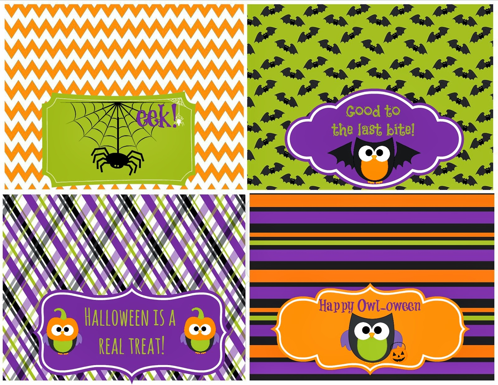 Halloween Party Printables - Second Chance To Dream